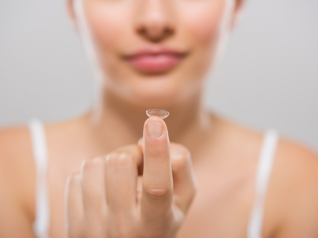 Consult with us to decide on the best contact lenses
